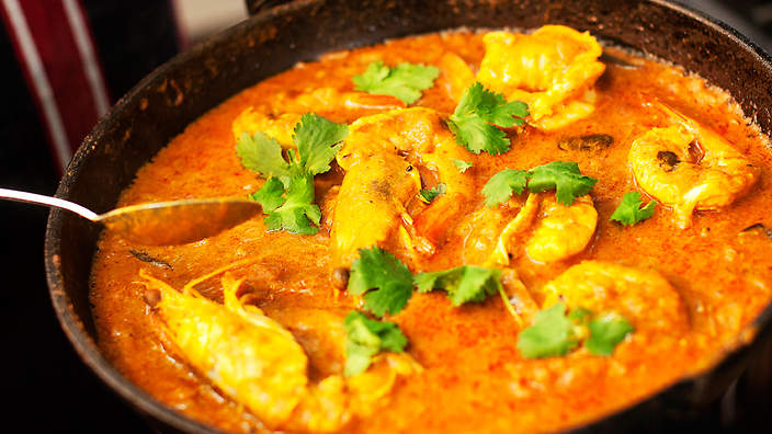 Prawn Curry (Kerala Style)